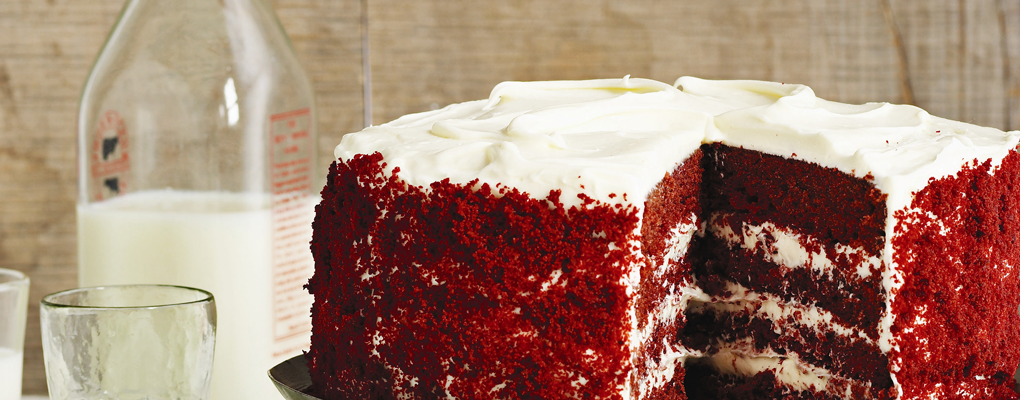 The cake of Love and the cake to Love.. RED VELVET